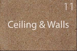 van living ceiling and walls