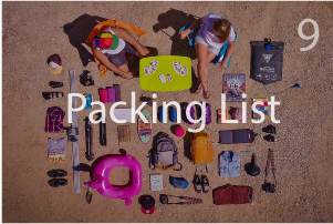 Packing list van life essentials