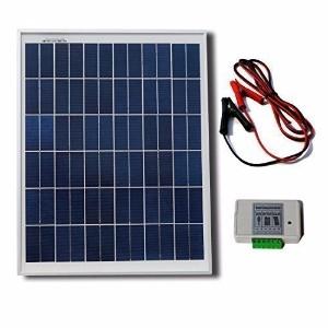 20W 12V Solar Panel Kit