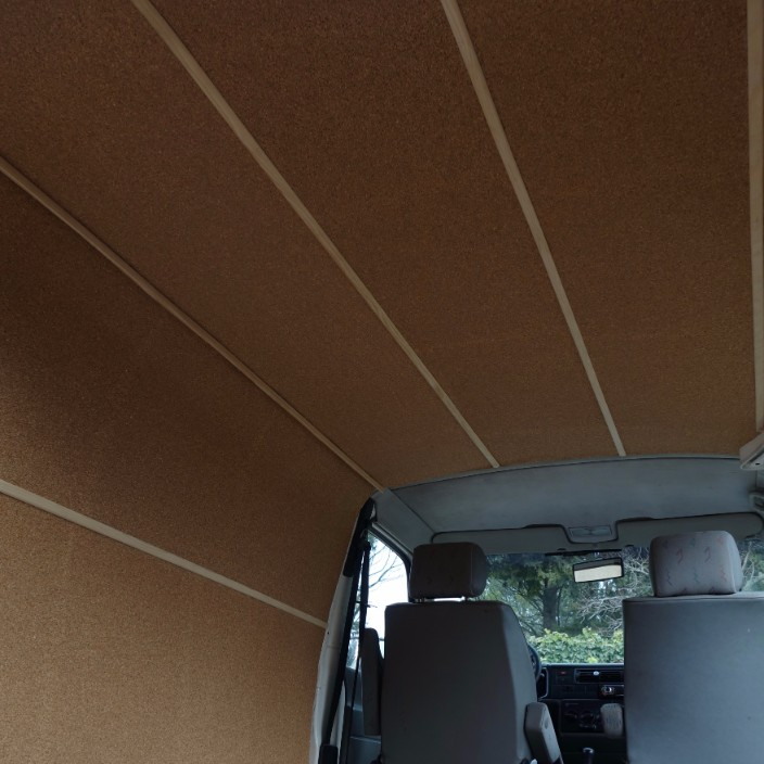 cork board ceiling