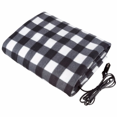 Heated Travel Throw Electric Blanket for van