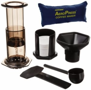 Portable coffee and espresso maker