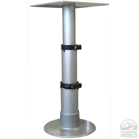 Springfield telescoping pedestal table
