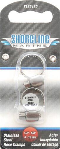 Shoreline Marine Stainless Steel Hose Clamp