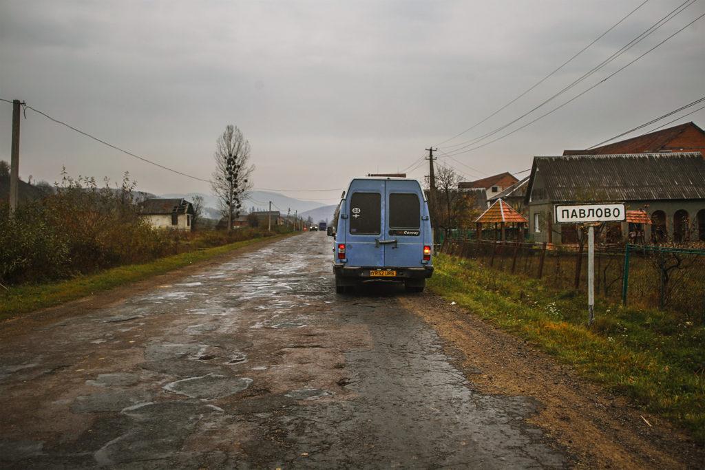 Ukraine roads