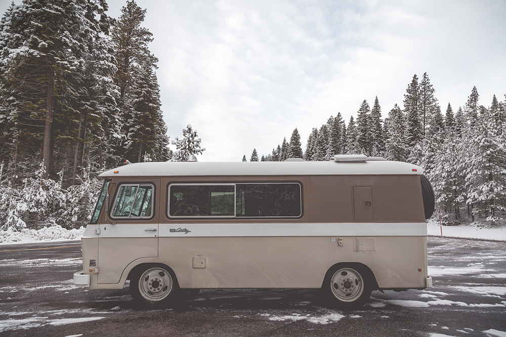 Van Life winter