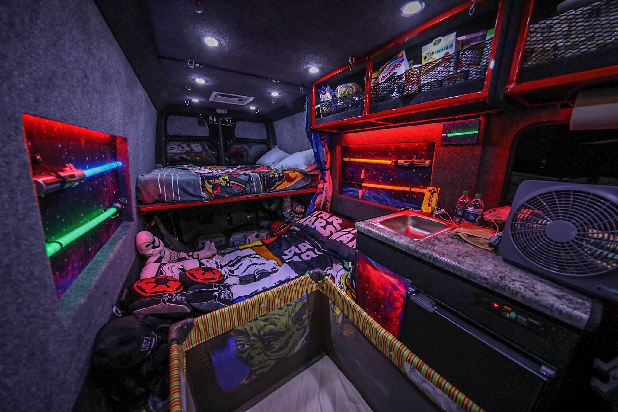 Star Wars Themed Van