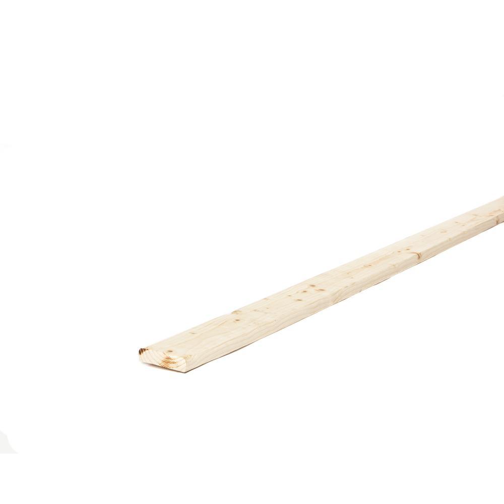 1 in. x 3 in. x 8 ft. Furring Strip Board