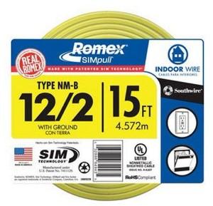 12 gauge Romex wire