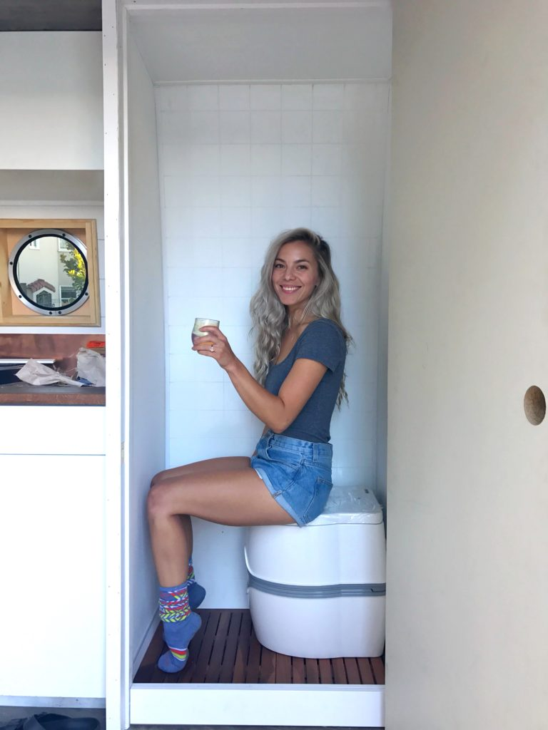 camper van bathroom
