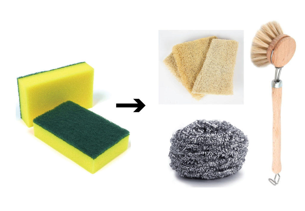 sustainable dish sponges