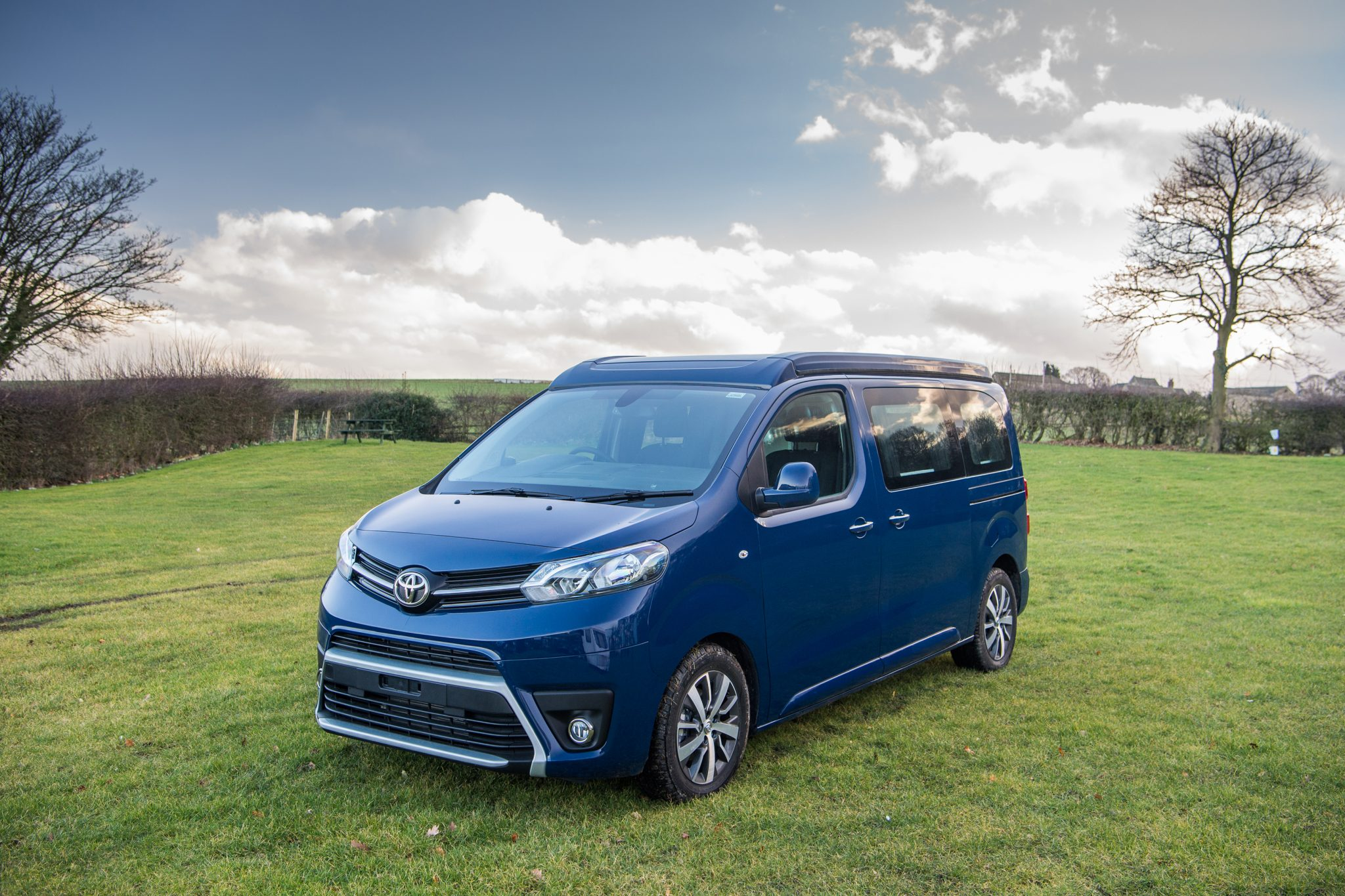 Introducing the New Toyota Proace Compact Camper - Outbound