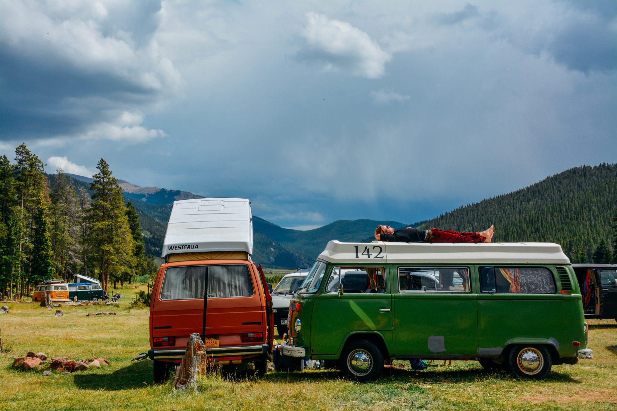 Colorado van life gathering