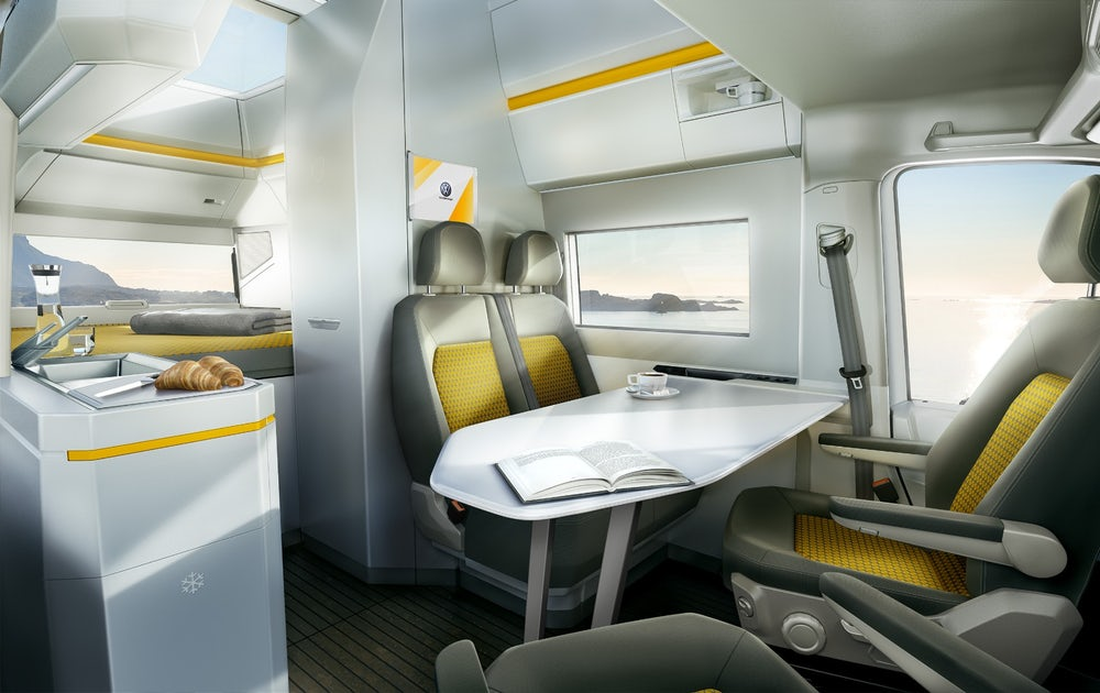 Vw California Xxl Concept Camper Set For Production Outbound Living