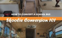 Skoolie Camper Conversion