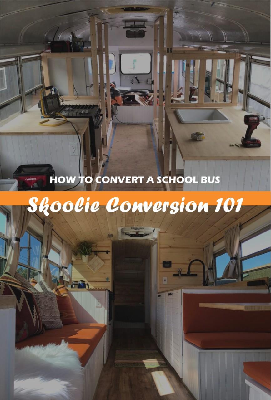 Skoolie Camper Conversion