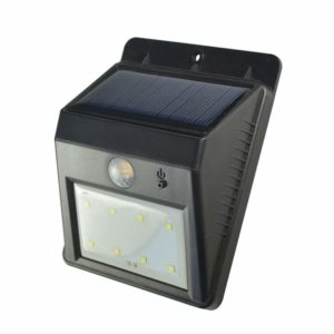 Solar Wall Light, Weatherproof Outdoor 8 LEDs Motion Senser Lighting
