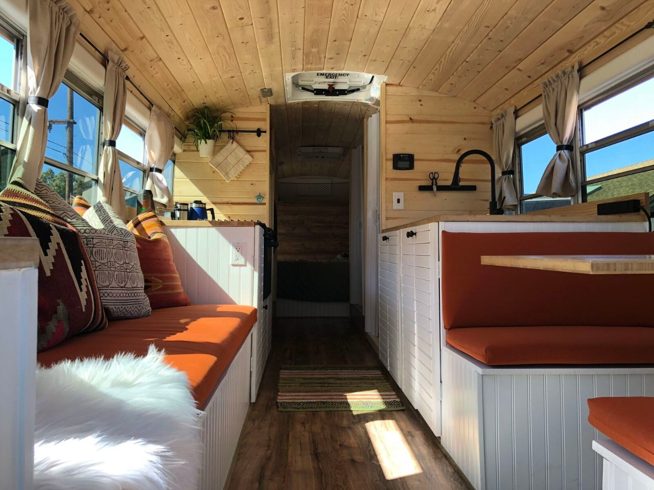 School Bus (Skoolie) Camper Conversion Plan - Outbound Living