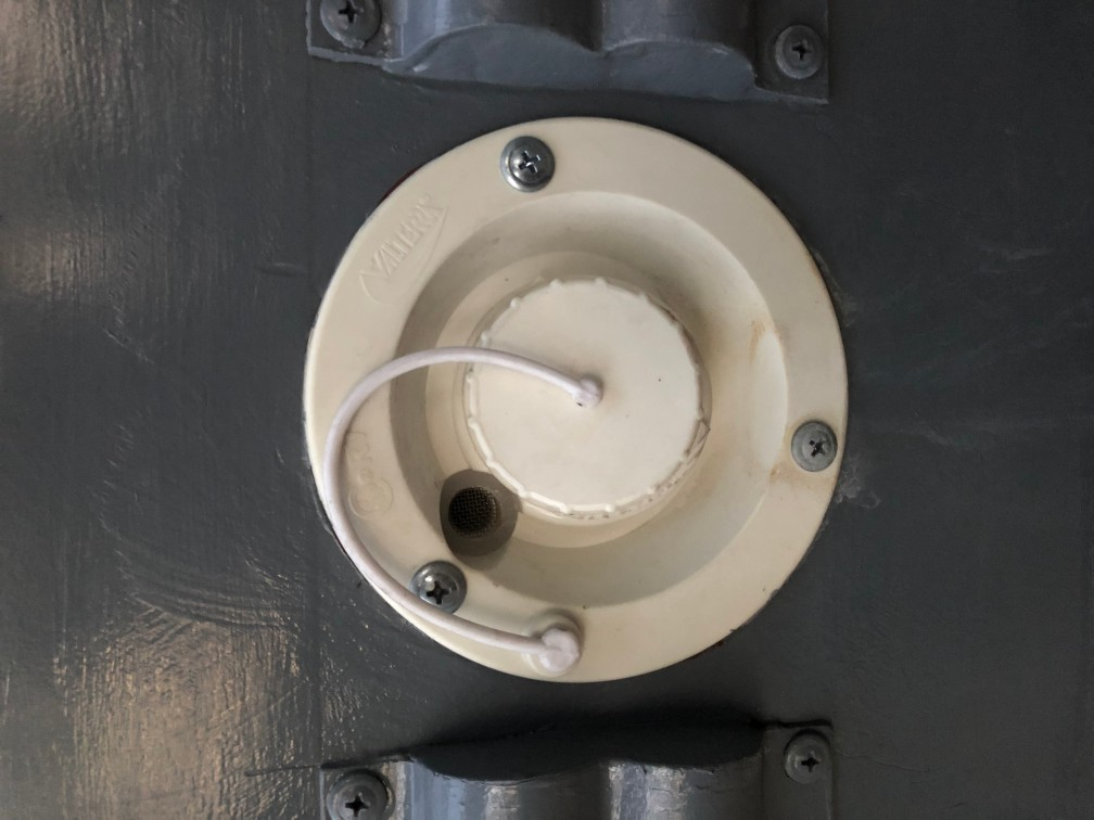 hose fill for bus conversion