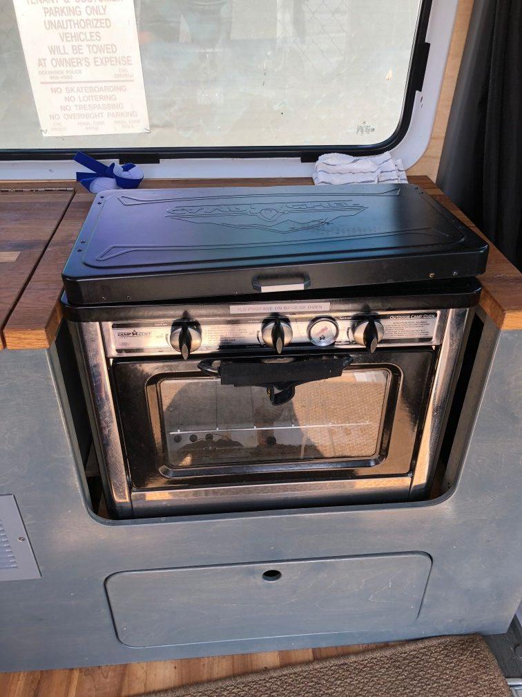 camper van oven stove