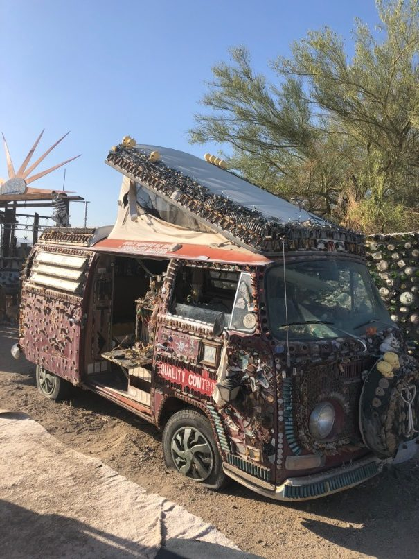 slab city vw house
