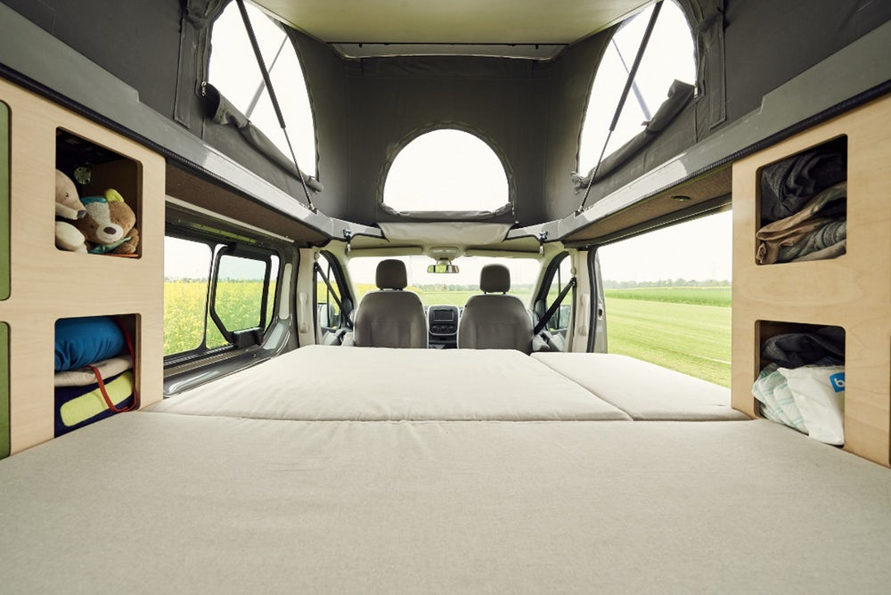 Kompanja campervan bed interior