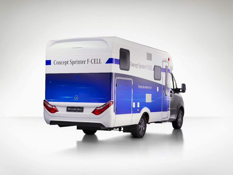 mercedes Concept Sprinter F-Cell rear
