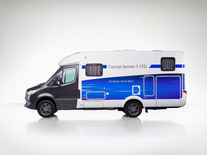 mercedes Concept Sprinter F-Cell camper van