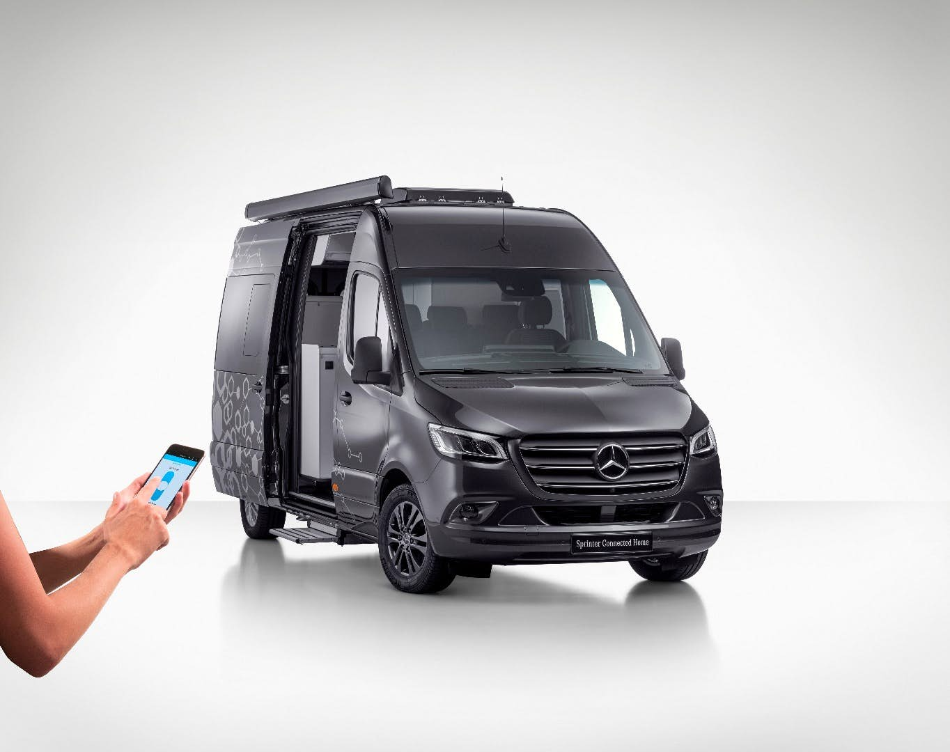 mercedes unveils 3 new innovative smart camper vans. Black Bedroom Furniture Sets. Home Design Ideas