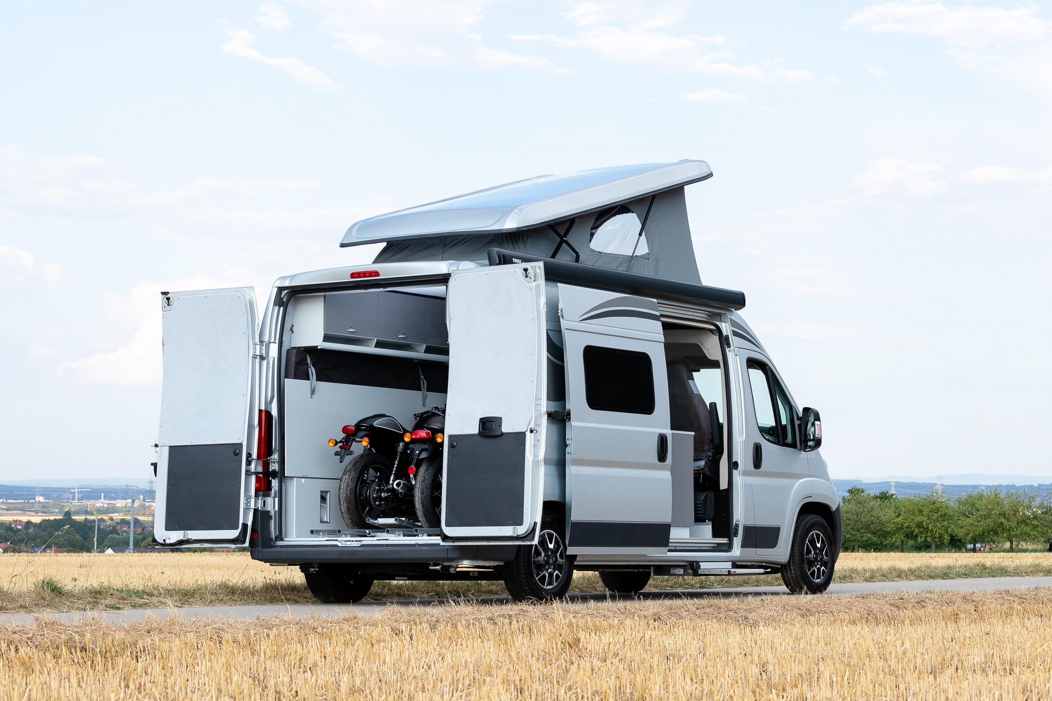 The Citroën Jumper Camper Van For Bikers - Outbound Living