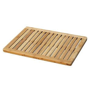 Outdoor Shower Mat Wood
