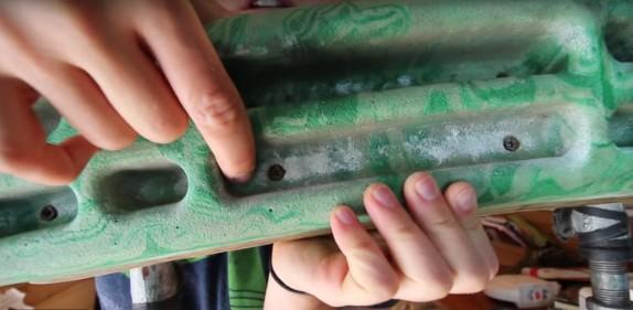 hangboard holes