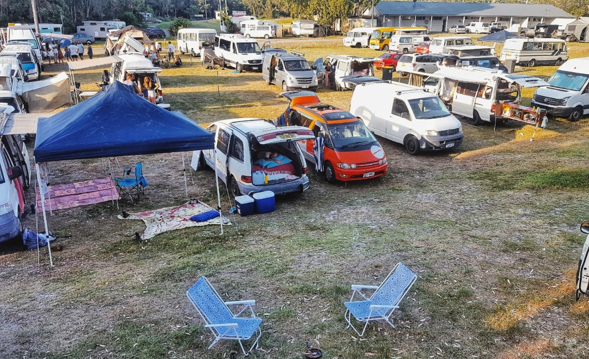 Vanlife Diaries Gathering Byron Bay Australia