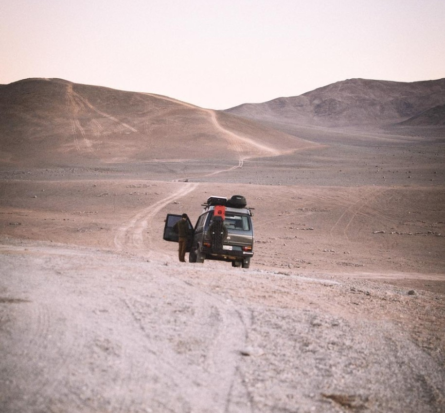 chilean desert camper