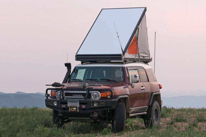 The Thinnest Rooftop Tent On The Market Outbound Living