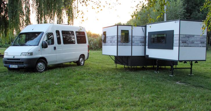 expanding camper van