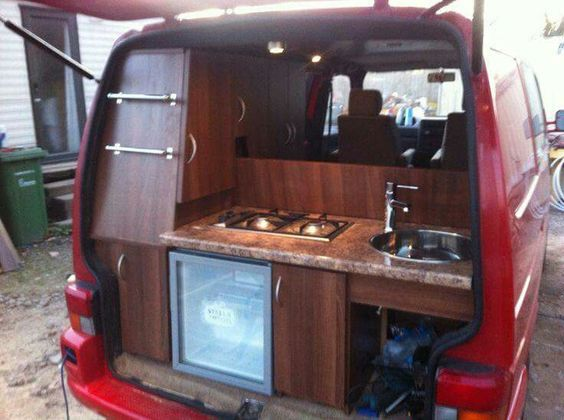 Camper Trunk Kitchen