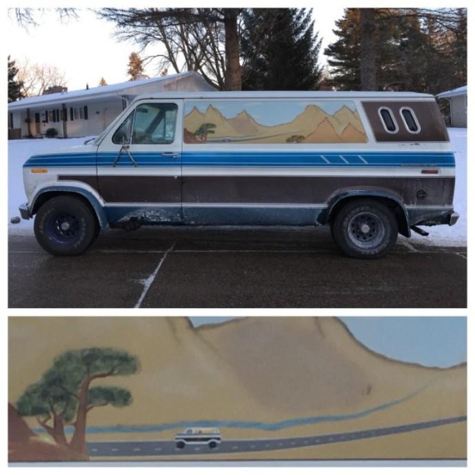 camper van painting
