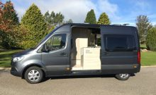 Sprinter Van with Expandable Shower