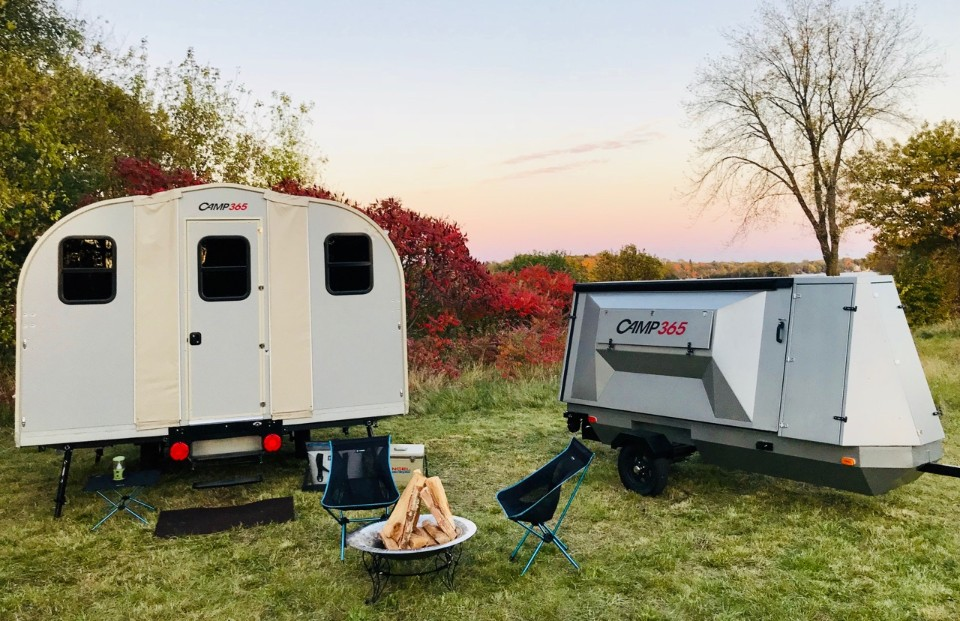All-Terrain Camper Trailer Expands Into 100 Sq  Ft Cabin