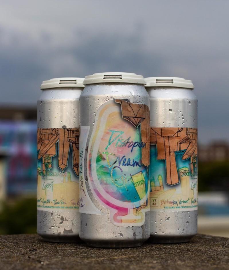 foam brewers craft beer label
