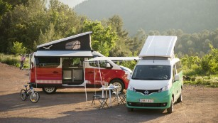 Nissan e-NV200 electric camper van