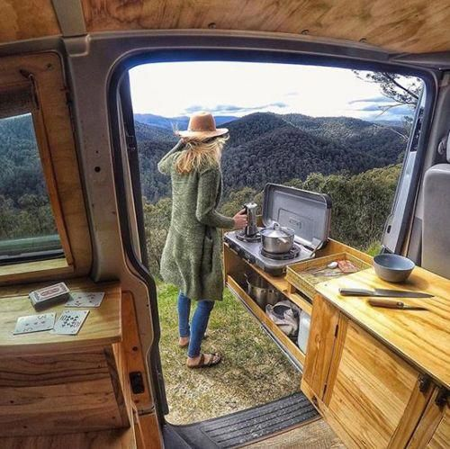Camper Van Conversion Kitchen Options, Ideas, & Accessories
