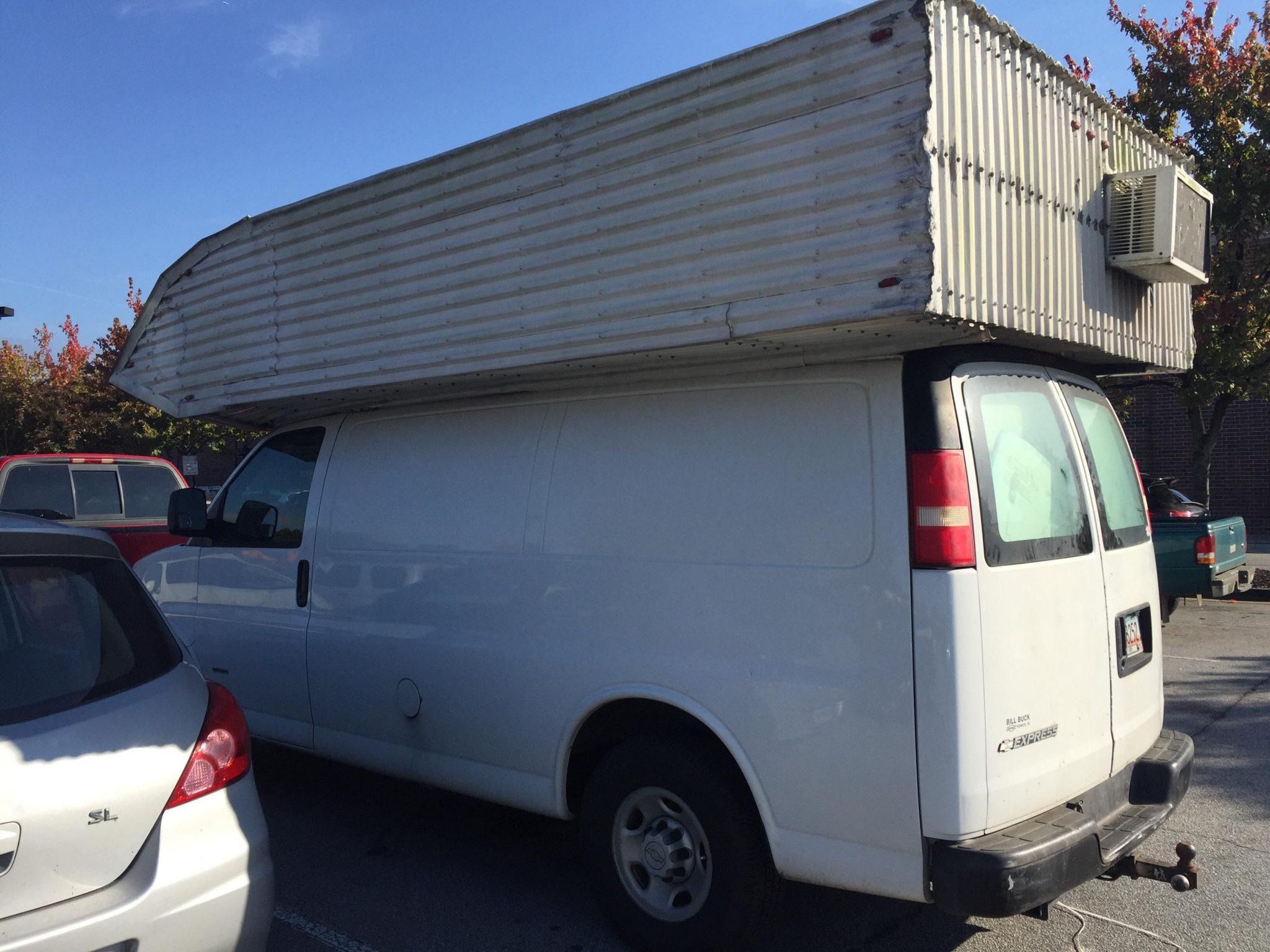 crazy cargo van