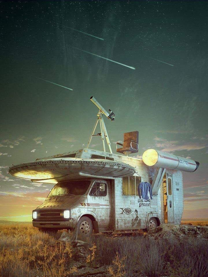 camper space ship