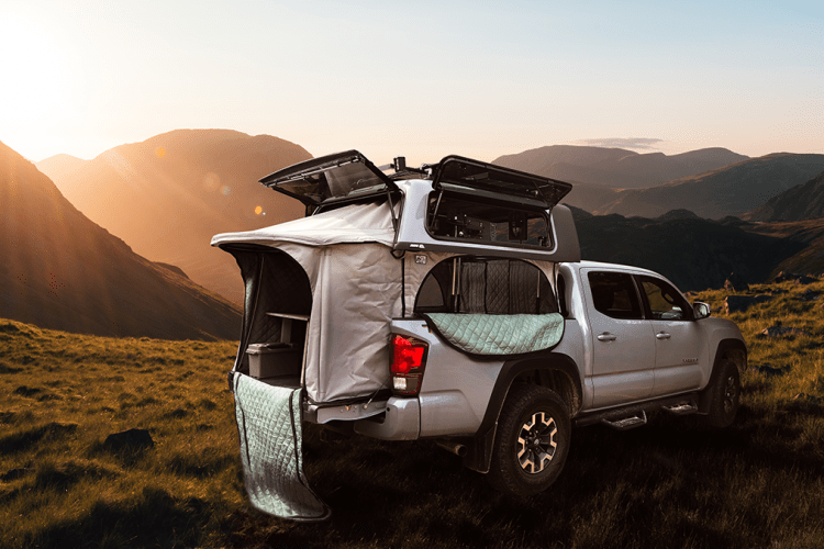 TopperLift Kit Easily Transforms Your Pick-Up Truck Into A Camper