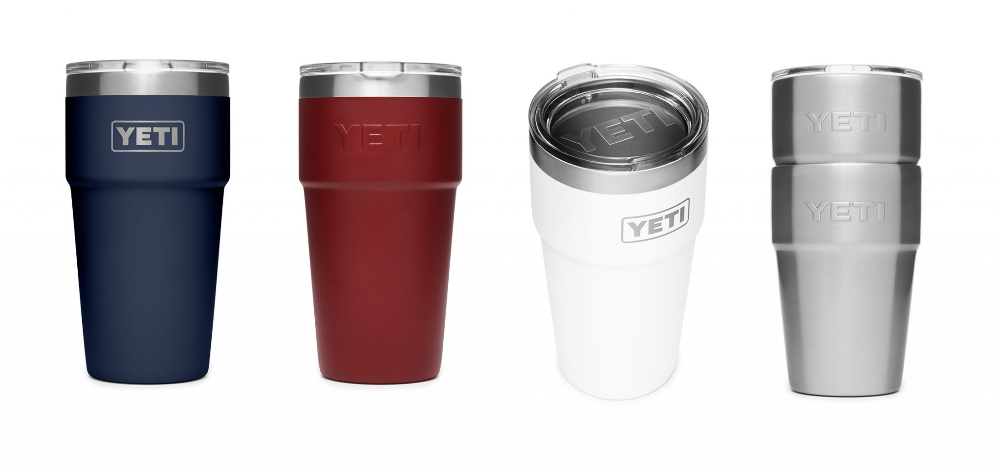 YETI 16oz stackable pint cups