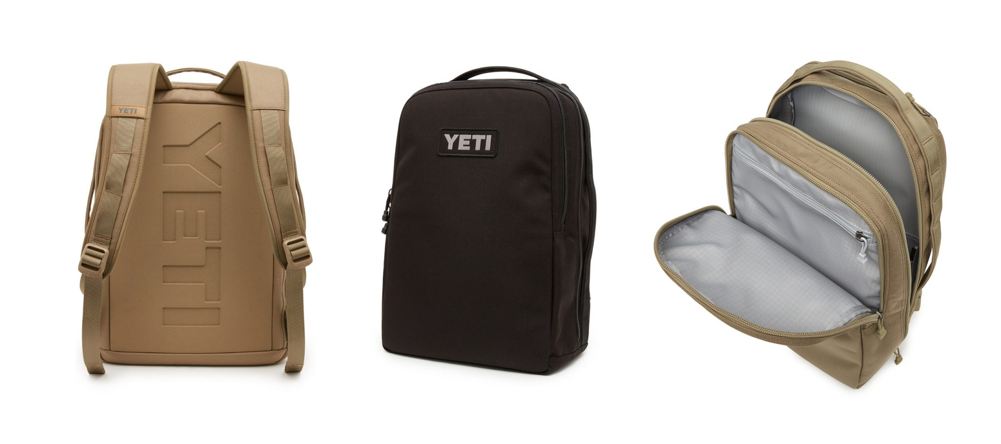 Angles of the YETI Tocayo 26 backpack