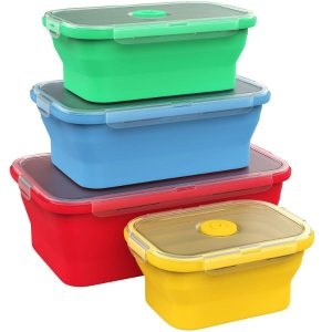 collapsible Silicone Food Storage