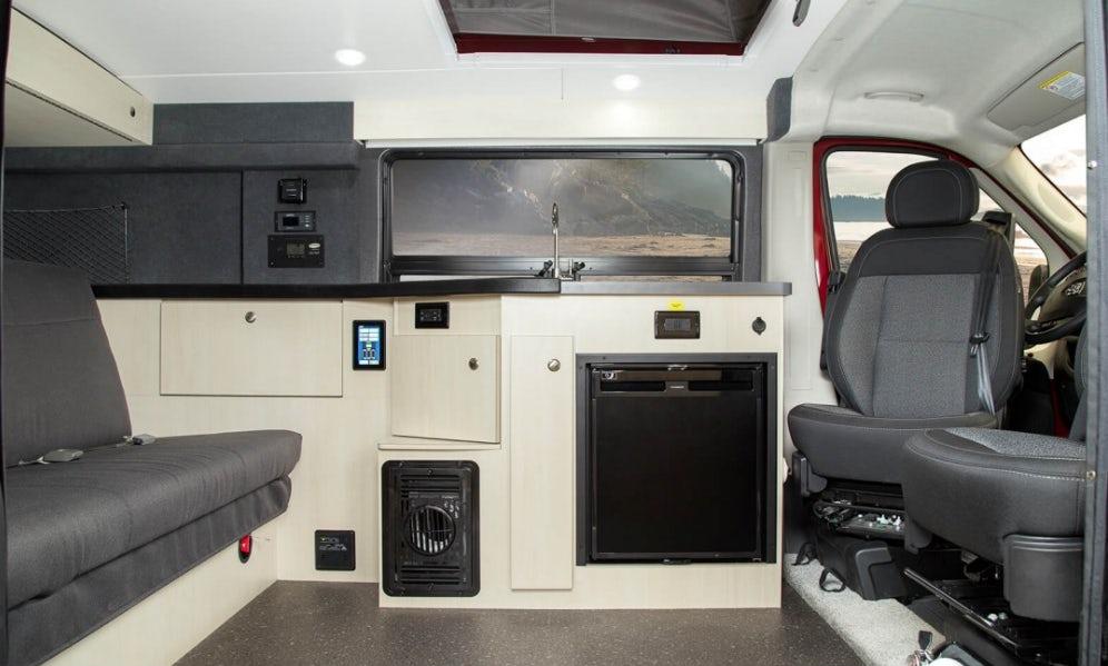 pleasure way van interior
